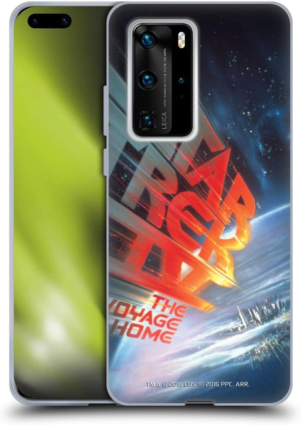 Head Case Designs Officially Licensed Star Trek The Voyage Home Movie Posters TOS Soft Gel Case Compatible with Huawei P40 Pro Plus