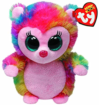 abab3b49caa Image Unavailable. Image not available for. Color  Ty Beanie Boos Holly -  Hedgehog (Justice Exclusive)
