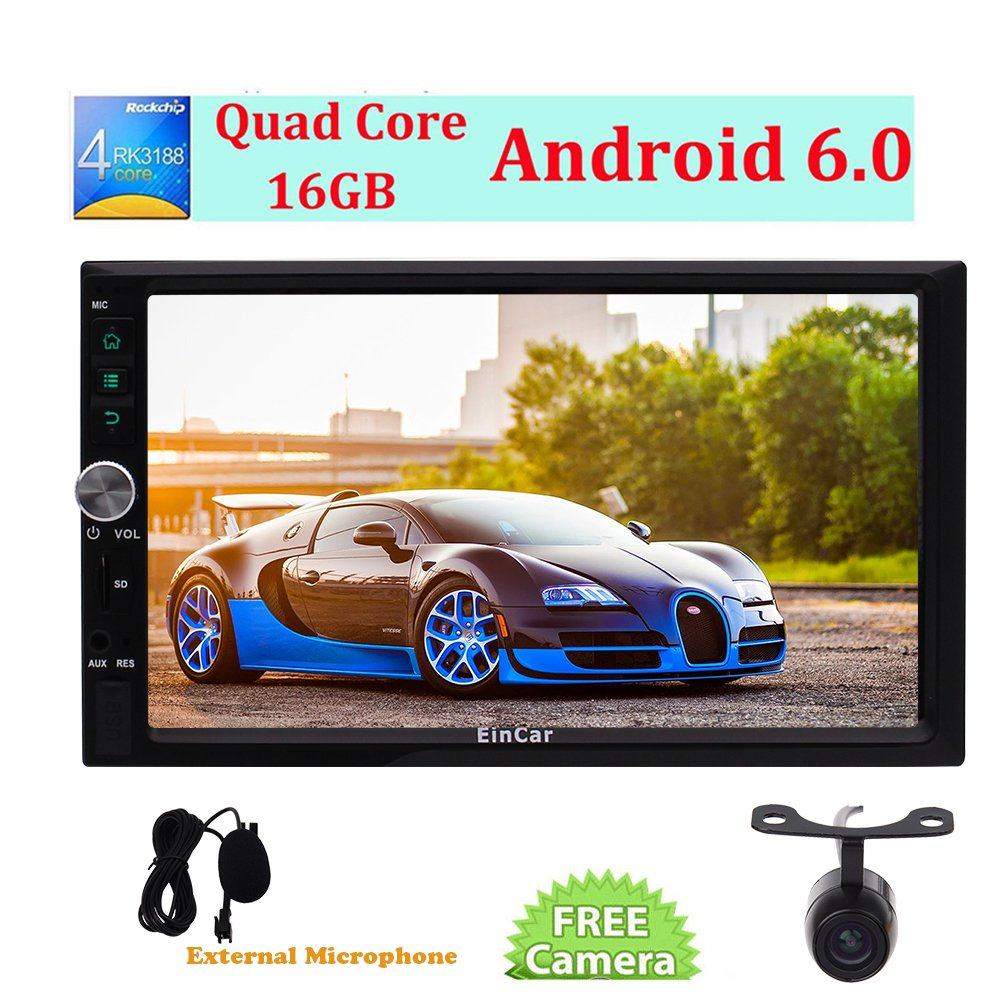 Eincar Hd 7 Marshmallow Android 60 Car Radio Double 6 Speaker Wiring Diagram Cars Chat Electronics