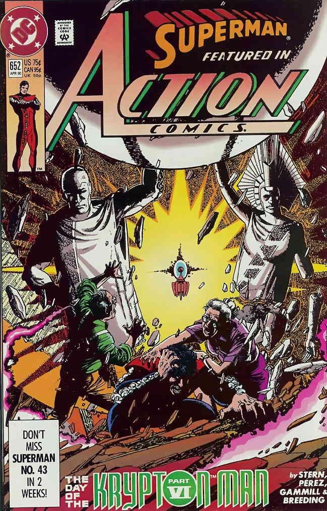 Action Comics #652 VF/NM ; DC comic book