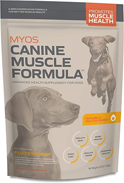Amazon Com Myos Canine Muscle Formula Clinically Proven All