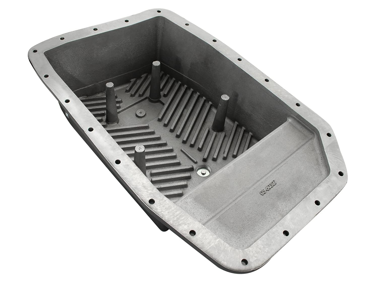Amazon com afe power 46 70172 ford f 150 transmission pan cover machined automotive