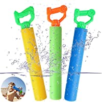 Tinabless Water Guns for Pool Toy, Super Soaker Foam Water Shooter Blaster Set (3 Pack) Outdoor Swimming Pool Summer Fun…