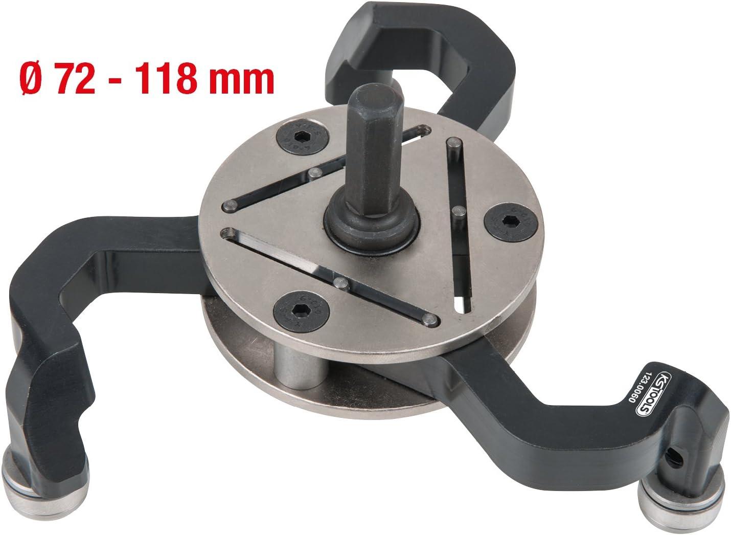 1/pezzi 123.0060 /118/mm KS-Tools selbsteinstellender tubo tgrater diametro 72/