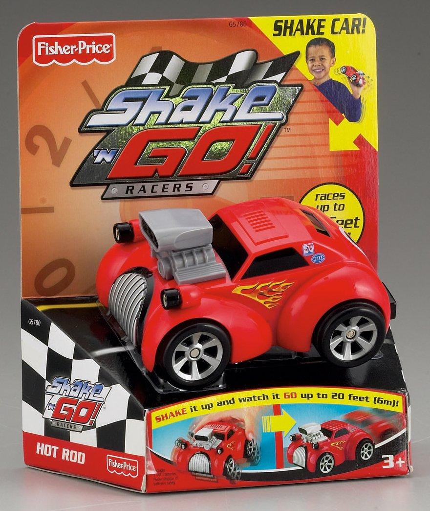 Amazon.com: Hot Rod - Shake & Go Racers: Toys & Games