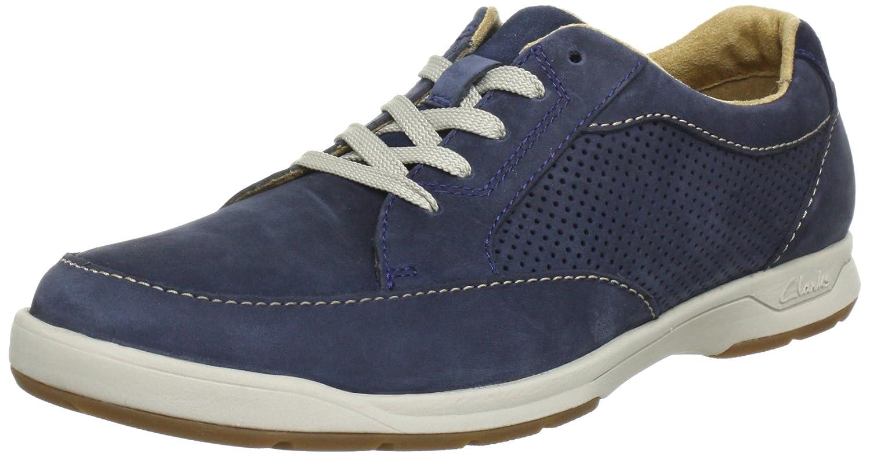 Clarks Stafford Park5 - Zapatos Hombre 39.5 EU|Azul (Navy Nubuck)