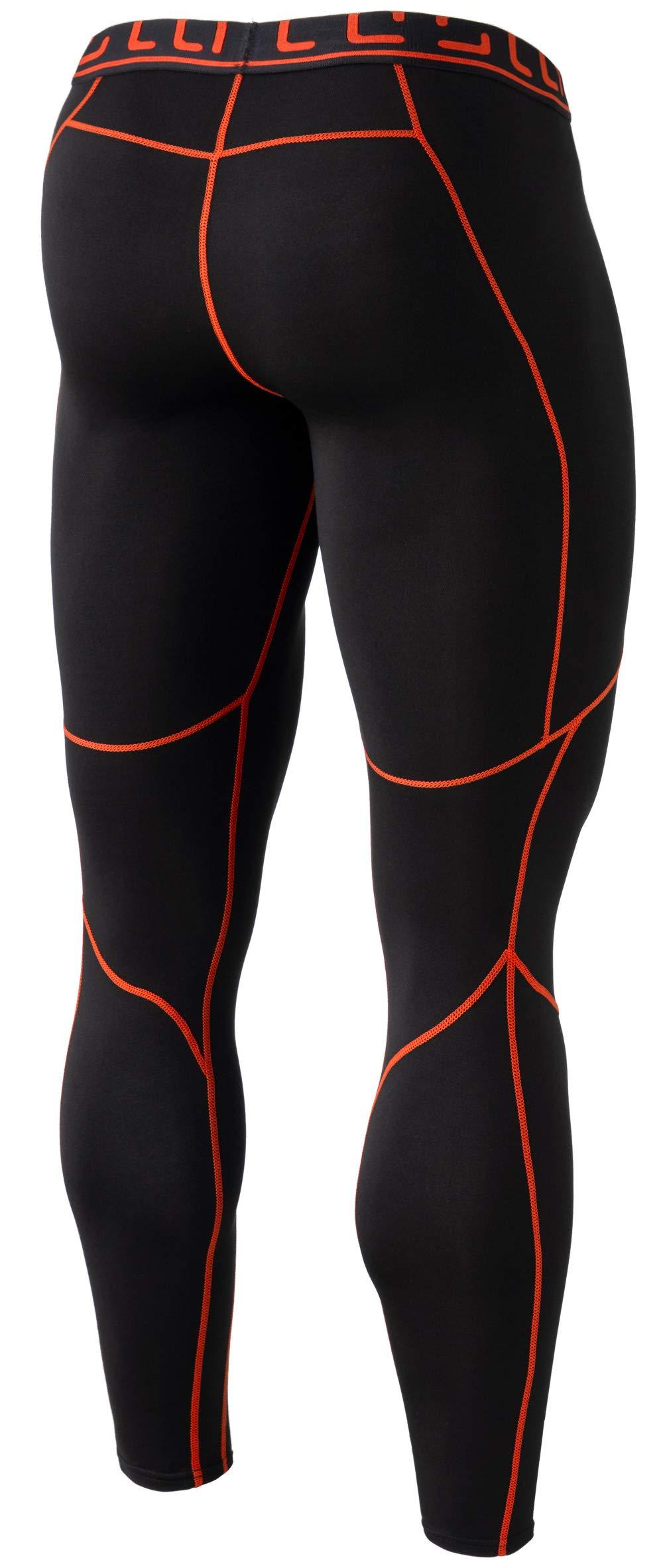 TM-YUP43-KOG_2X-Large Tesla Men's Thermal Wintergear Compression Baselayer Pants Leggings Tights YUP43 by TSLA (Image #2)