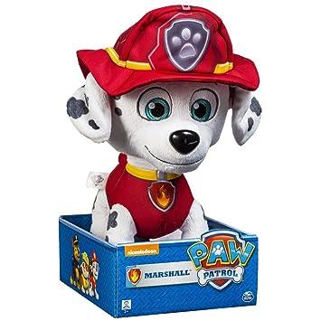 Patrulla Canina - Peluche Marshall, 25 cm (Bizak 61920607): Amazon.es: Juguetes y juegos