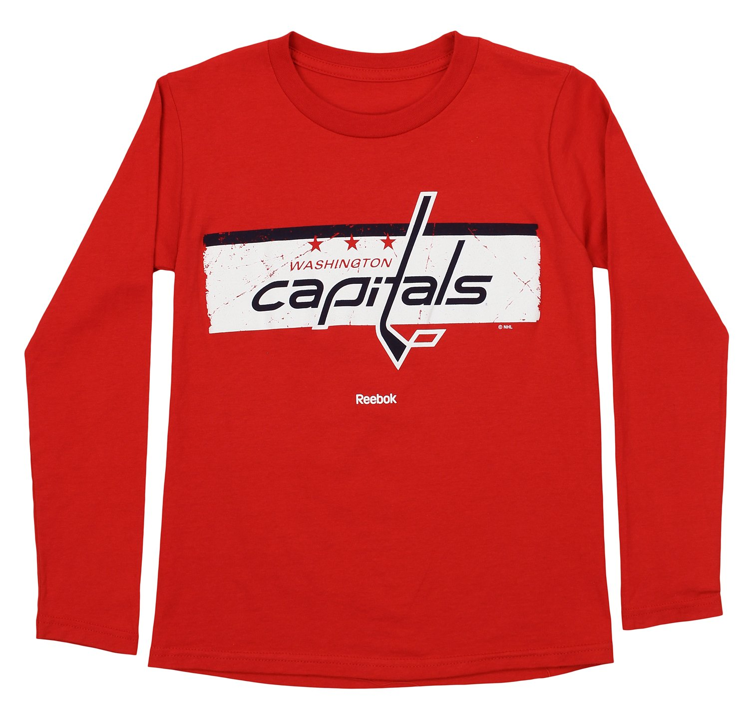 075f18a127ab Outerstuff NHL Youth Boys Washington Capitals Honor Code Long Sleeve Tee,  Red