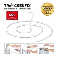 TROCKENFIX Wäschebügel   bekannt aus die Höhle der Löwen   Wäschetrockner - Wäscheständer   ideal zum Trocknen von Bettwäsche