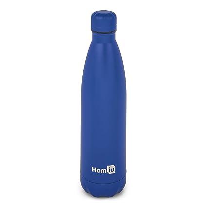 Homiu Botella de Agua Aislamiento al vacío Ultima Agua ...