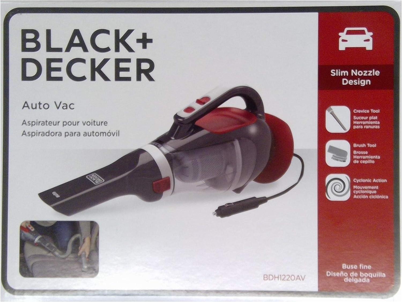 Black+Decker BDH1220AV aspiradora automática DustBuster de 12 V: Amazon.es: Hogar