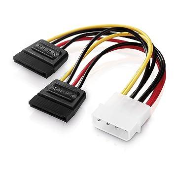adaptare 34002 15 cm Adapter-Kabel 4-pin Molex auf: Amazon.de ...