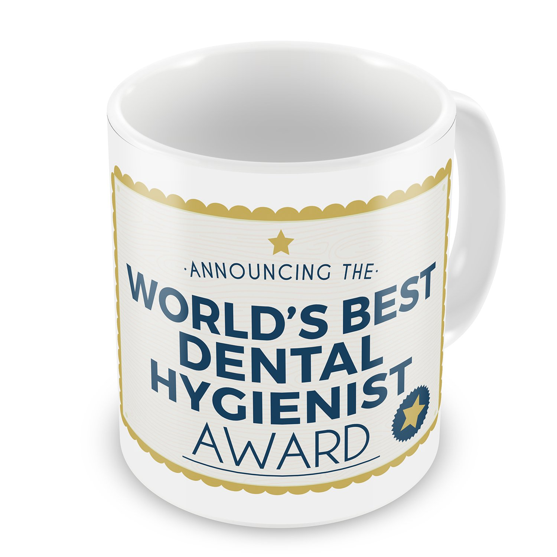 Amazon Coffee Mug Worlds Best Dental Hygienist Certificate