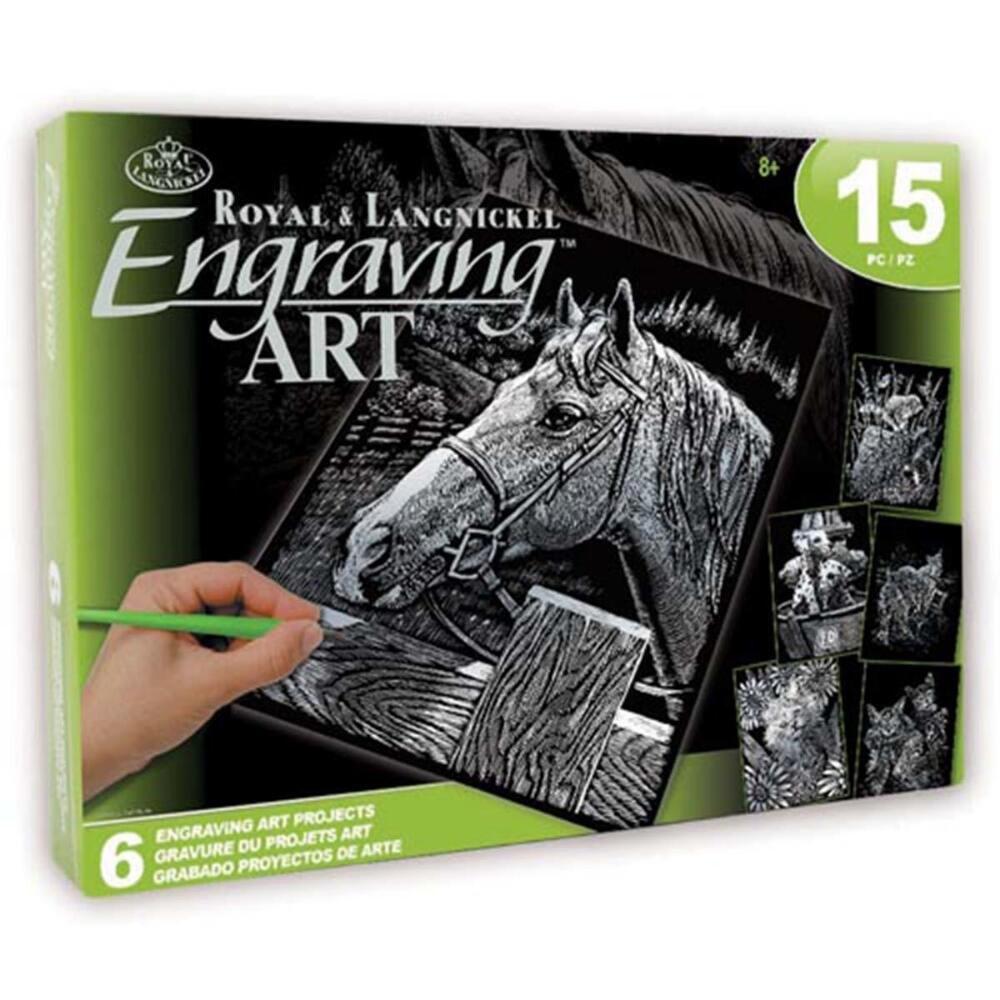ROYAL BRUSH Pets Silver Engraving Art Kit