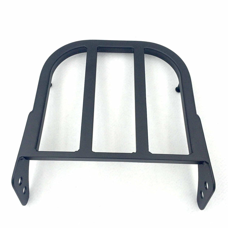 B01GFD08P2 HONGK Black Sissy Bar Luggage Rack Compatible with 1997-2007 Suzuki Marauder VZ800// 2005-2009 Suzuki Boulevard C50//C90 //2012-2013 Suzuki Boulevard C50//M50