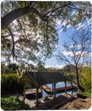 alfombrilla de ratón Boathouse Melbourne Jardín Botánico: Amazon.es: Electrónica