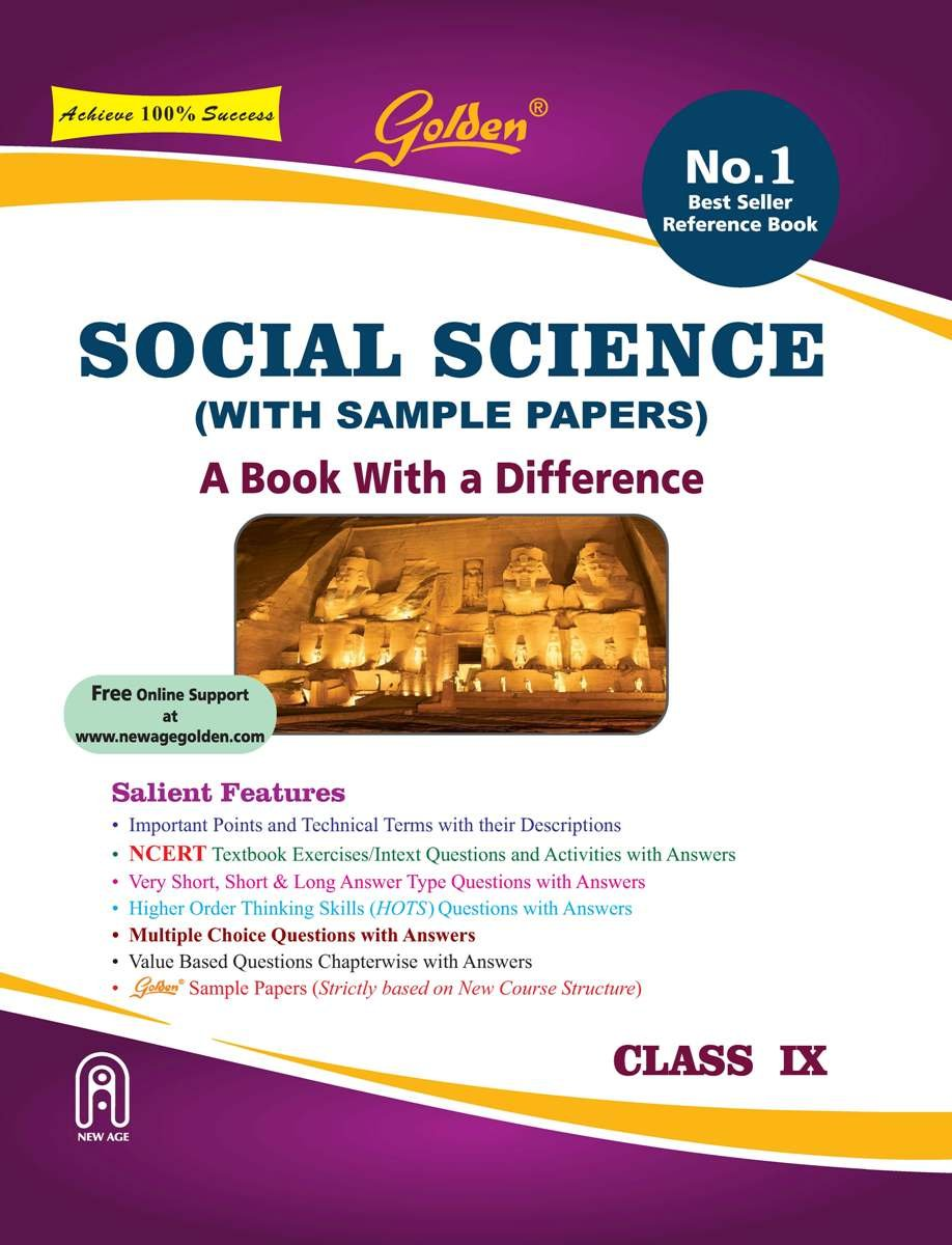Golden Social Science: With Sample Papers A Refresher Class 9 For 2019  Final Exams: Amazon.in: Rastogi Sudha: Books