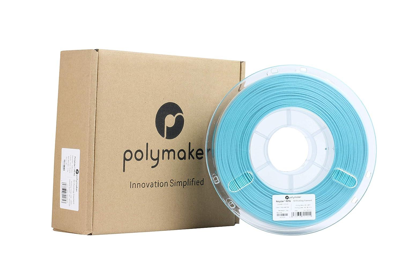 1Kg 1.75mm Filament 2.2lb Polymaker PolyLite 3D Printer Filament PETG Filament Polymaker Teal Filament Random Outer Packaging
