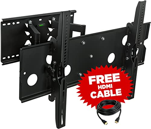 Universal Heavy Duty Flat Screen Adjustable LED HD LCD 30 -52 Home Entertainment TV Wall Mount