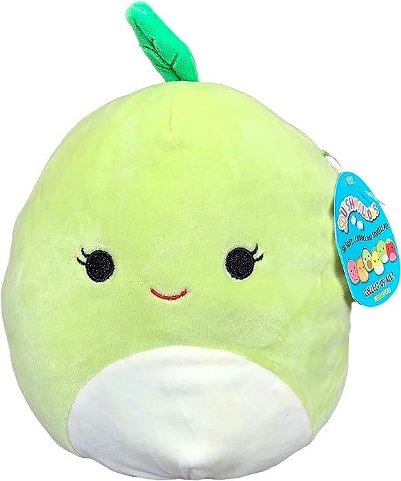 Squishmallow 8 Inch Ashley Apple Plush Toy, Super Pillow Soft Plush Stuffed Animal, Green