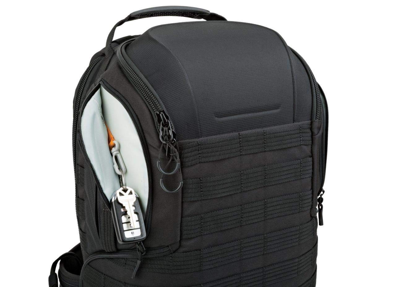 Lowepro ProTactic 350 AW II Black Pro Modular Backpack with All Weather Cover for Laptop Up to 13 Inch, Tablet, Canon/Sony Alpha/Nikon DSLR, Mirrorless CSC and DJI Mavic Drones LP37176-PWW by Lowepro (Image #7)