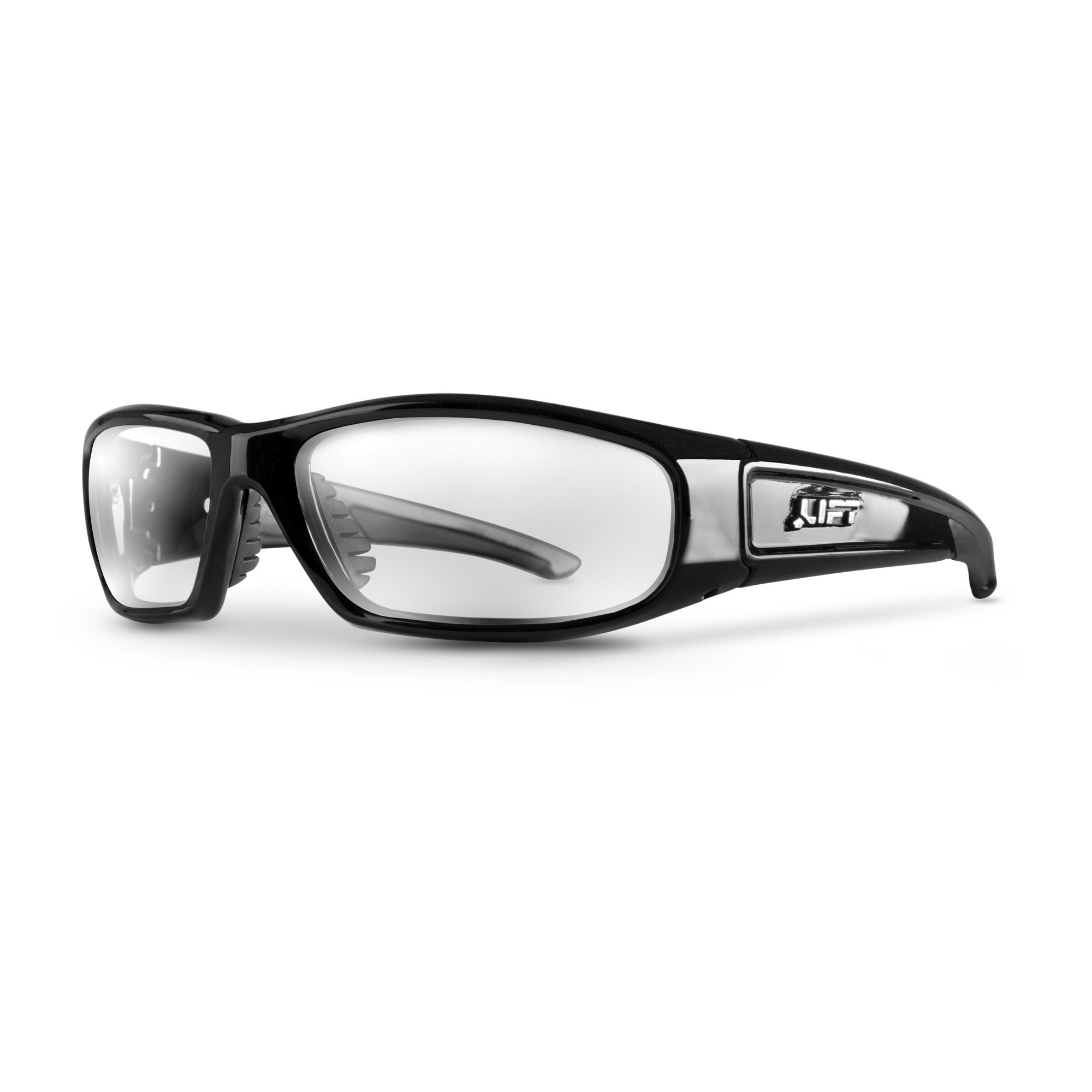 LIFT Safety Switch Safety Glasses (Black Frame/Clear Lens)
