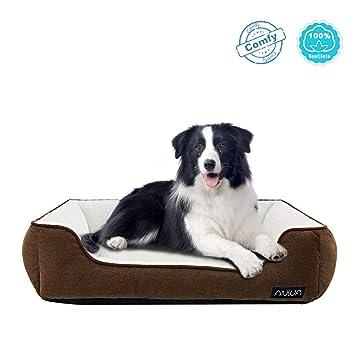 Amazon.com: Cama para perro ANWA, cómoda cama para perros ...