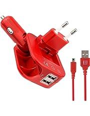 EXLENE? Nintendo 3DS USB Power Charge [Spielen Beim Laden] F¨¹r Nintendo 3DS, 3DS XL, 2DS, DSi, DSi XL