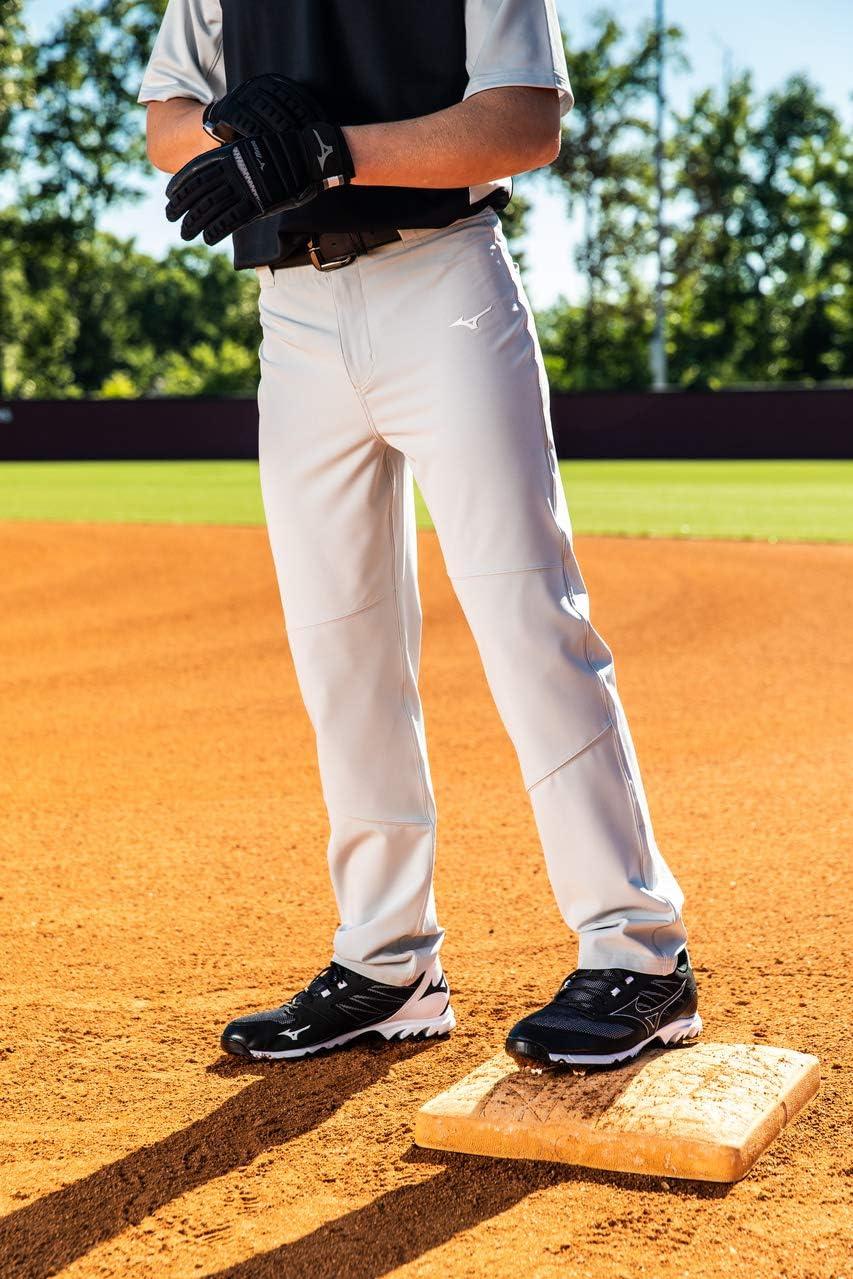 Mizuno Pro Woven Baseball Pant White Medium