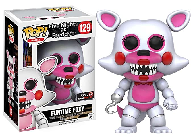 GameStop Exclusive POP! Games: Five Nights at Freddy's - Funtime Foxy