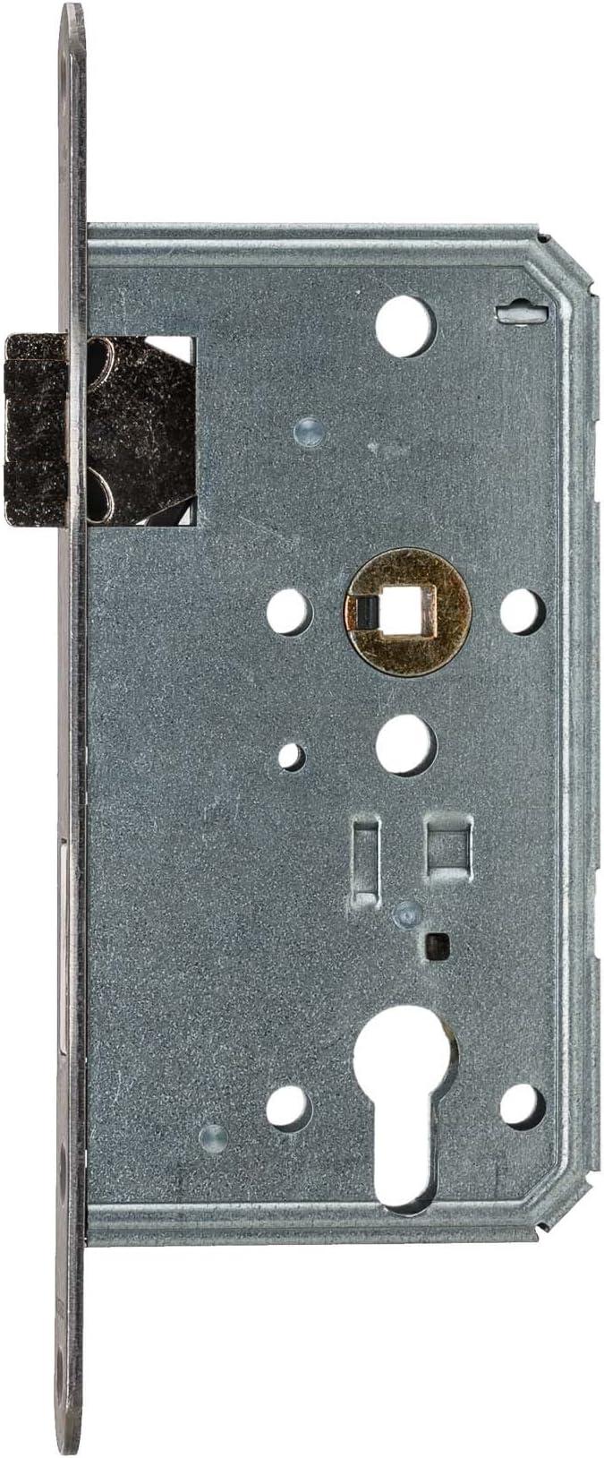 Classe 3 Avec t/êti/ère en acier inoxydable Serrure /à mortaiser BMH Pour cylindre profil/é 65//72//8 Fabriqu/ée en Allemagne