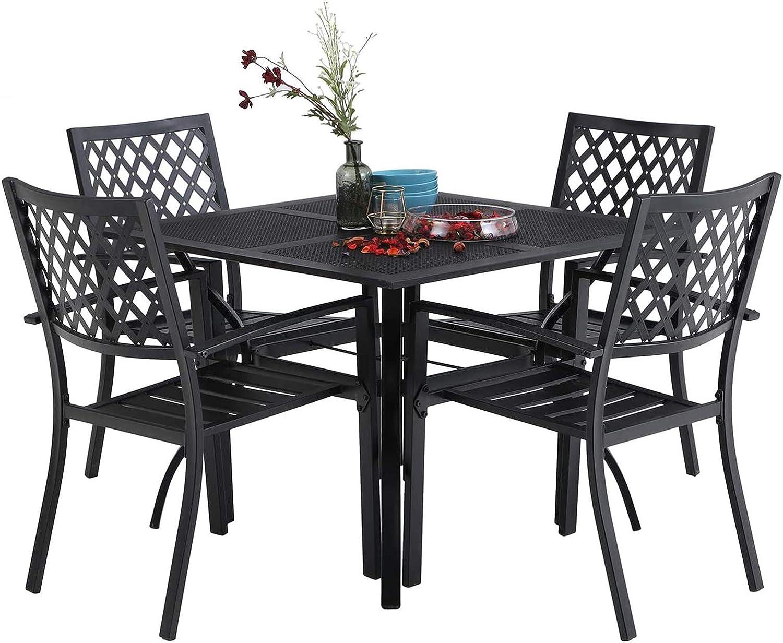 Fresh Garden Chairs Black Metal