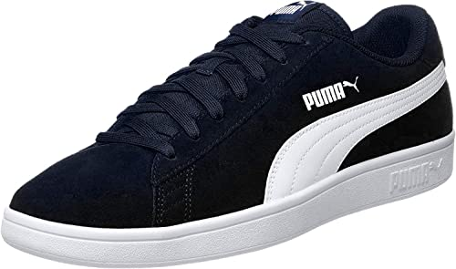 Smash V2 Peacoat White Leather Sneakers