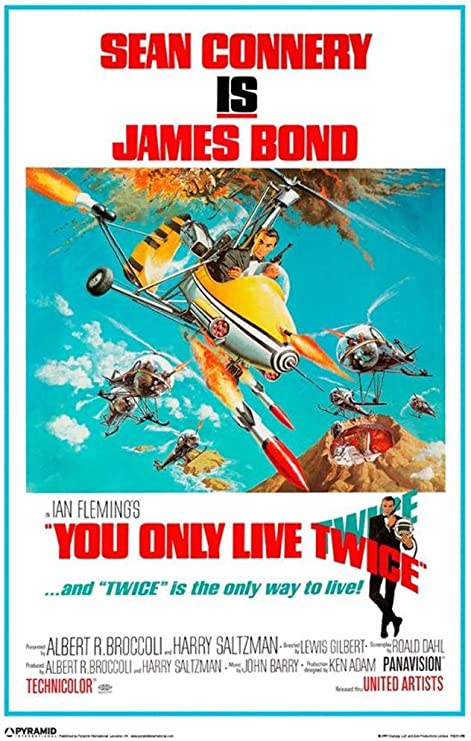 Amazon.com: Connery James Bond Poster You Only Live Twice Pp31206 ...