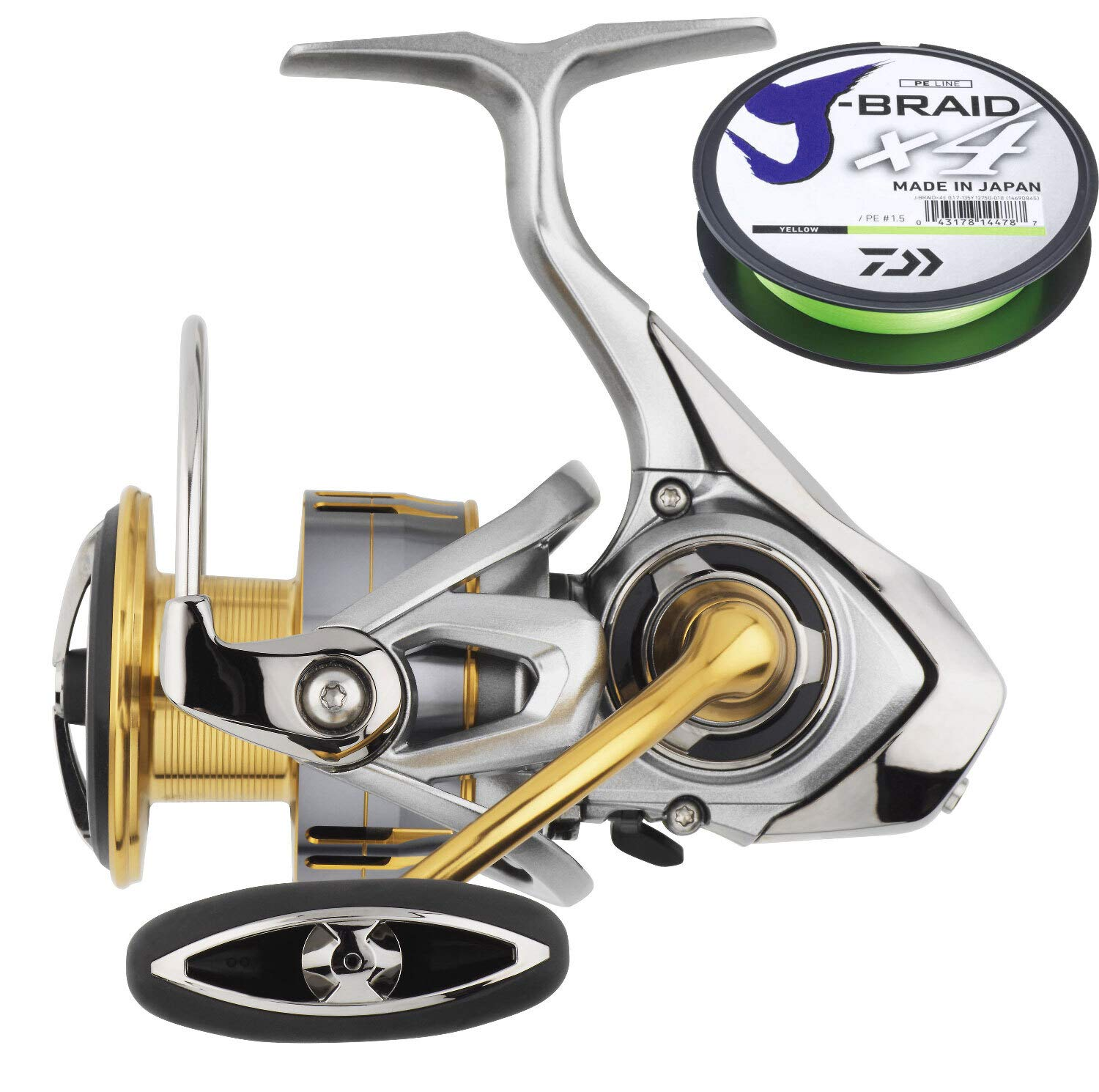 Gratis 0,17mm J-Braid Schnur Daiwa Freams 3000 LT Angelrolle