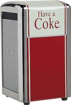 Tablecraft Coca-Cola Napkin Dispenser Half Red