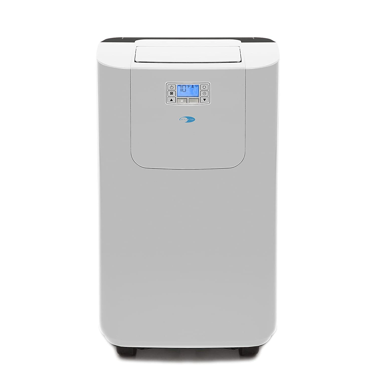 Whynter Elite ARC-122DHP 12,000 BTU Dual Hose Portable Air Conditioner and Heater, Dehumidifier, Fan with Activated Carbon Filter plus Autopump and Storage bag for Rooms up to 400 sq ft