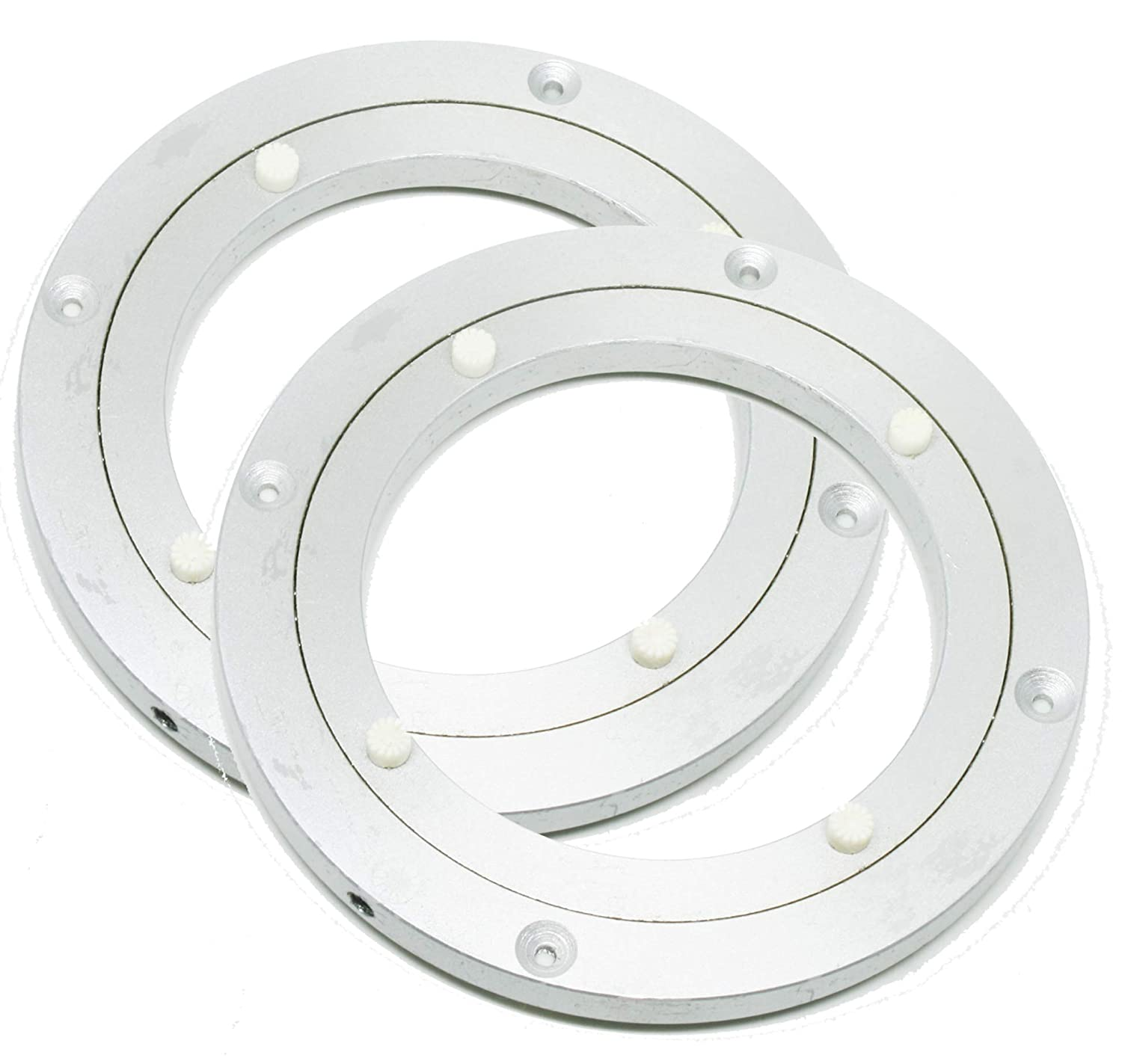 "120mm 4.5"" inch Aluminum Lazy Susan Turntable Bearings Pack of 2"
