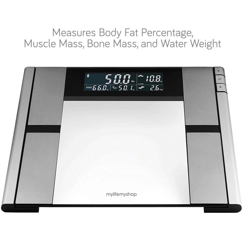 My Life My Shop Digital Scale and Body Analyzer