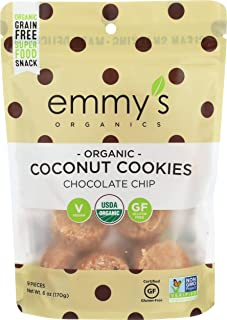product image for Emmy's Organics Organic Chocolate Chip Coconut Cookies, 6 oz