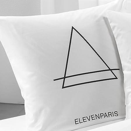 taie d oreiller eleven paris C Design Eleven Paris ART2091 Marilyn Taie d' Oreiller Coton Blanc  taie d oreiller eleven paris