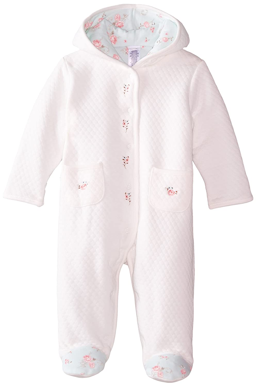 Little Me Baby Girls Newborn Graceful Rose Pram White