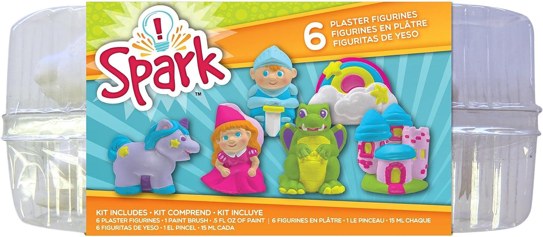 B003SBIBO0 Colorbok YPI50047 You Paint It Plaster Kit, Value Pack, Enchanted 71h-mIKuaIL