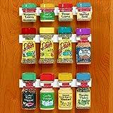 Amazon Com Decobros 30 Spice Gripper Clips Strips Cabinet
