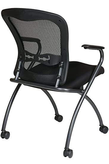 Office Star Pro Line II ProGrid Back Deluxe Folding Chair