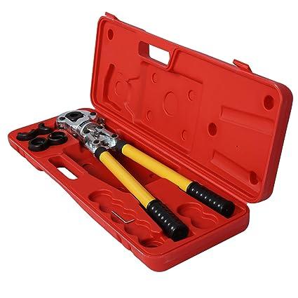 Alicate prensar tubos Tenazas Tubo multicapa aluminio Tubería PEX TH 16-32mm
