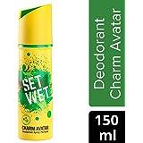 Set Wet Charm Avatar Deodorant Spray Perfume, 150 ml