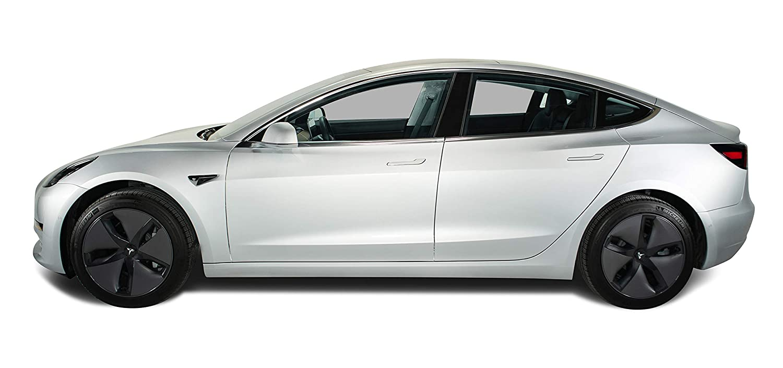 Pearl White Multi-Coat Nikola Pro Tesla Model 3 Door Handle Wrap Kit