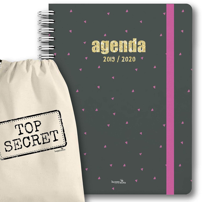 Agenda CAT 2019-2020 setmana vista + bossa cotó (30x21cm) - agenda ...